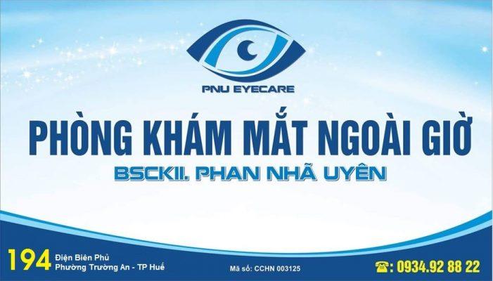 Phòng khám mắt bs Phan Nhã Uyên